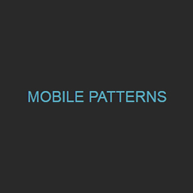 Logo Mobile Patterns
